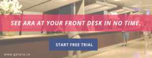 Free-trial-ara-digital-receptionist-capture-visitors-information