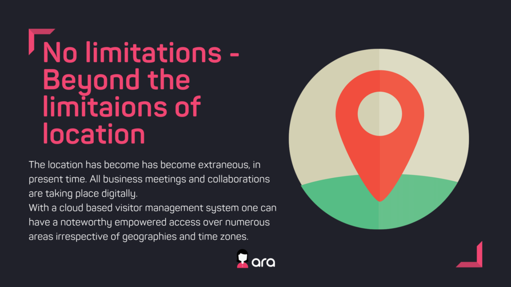 No limitations- beyond the limitations of location