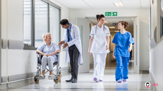 VMS in hospitals - benefits